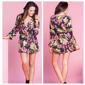 Lovers + Friends Freshwater Floral Long Sleeve